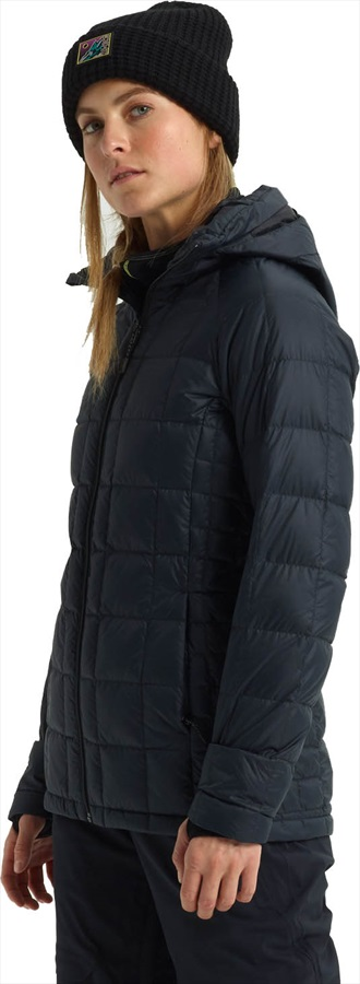 Burton Womens [ak] Baker Down Insulated Snowboard Jacket, S True Black