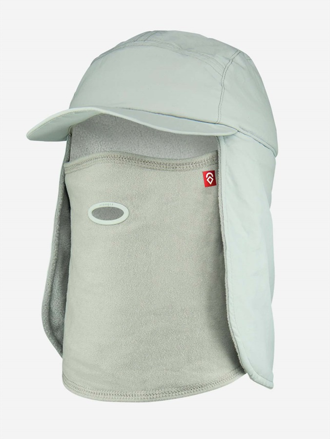 Airhole 5 Panel Ski/Snowboard Neck Chube/Hat, M/L Grey
