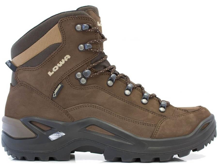 Lowa Renegade GTX Mid Men's LTR Hiking Boots UK 14 EspressoBrown