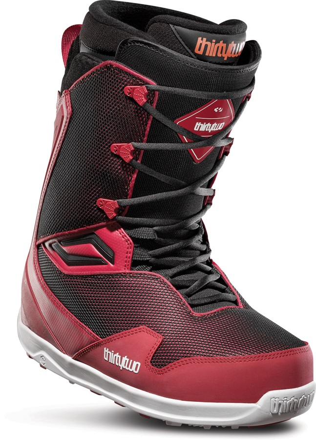 thirtytwo TM-Two Men's Snowboard Boots, UK 10.5 Red/Black 2020
