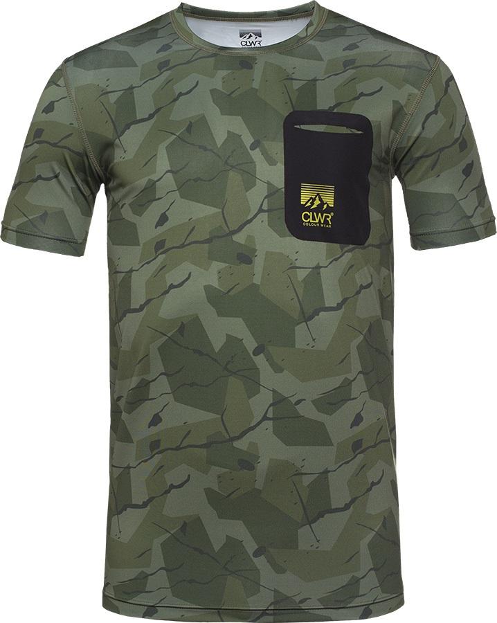 Colour Wear Push Tee Men's Sports T-shirt, XL Ivywood