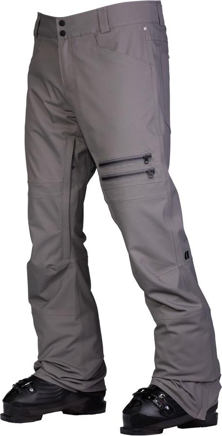 Armada Atmore Stretch Snowboarding/Ski Pants, M Slate