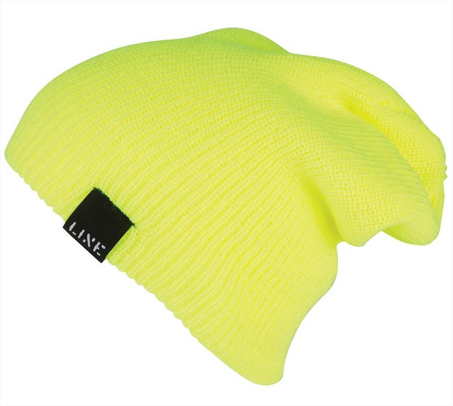 LINE Soul Beanie, One Size Safety Yellow