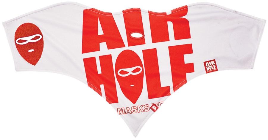 Airhole Standard Snowboard/Ski Face Mask L/XL Logo Grey