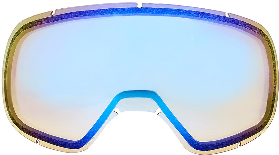 Dragon D3 Snowboard/Ski Goggles Spare Lens Yellow Blue Ionized