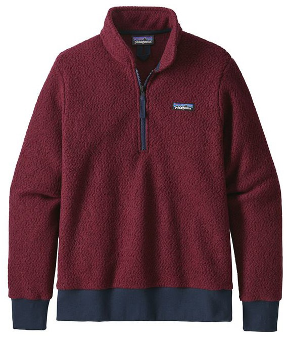 Patagonia Women's Woolyester Fleece P/O Fleece Pullover, L Oxide Red