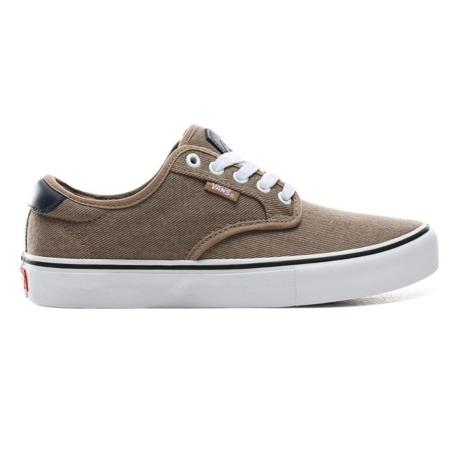 Vans Chima Ferguson Pro Twill Skate Shoes, UK10.5 Portabella