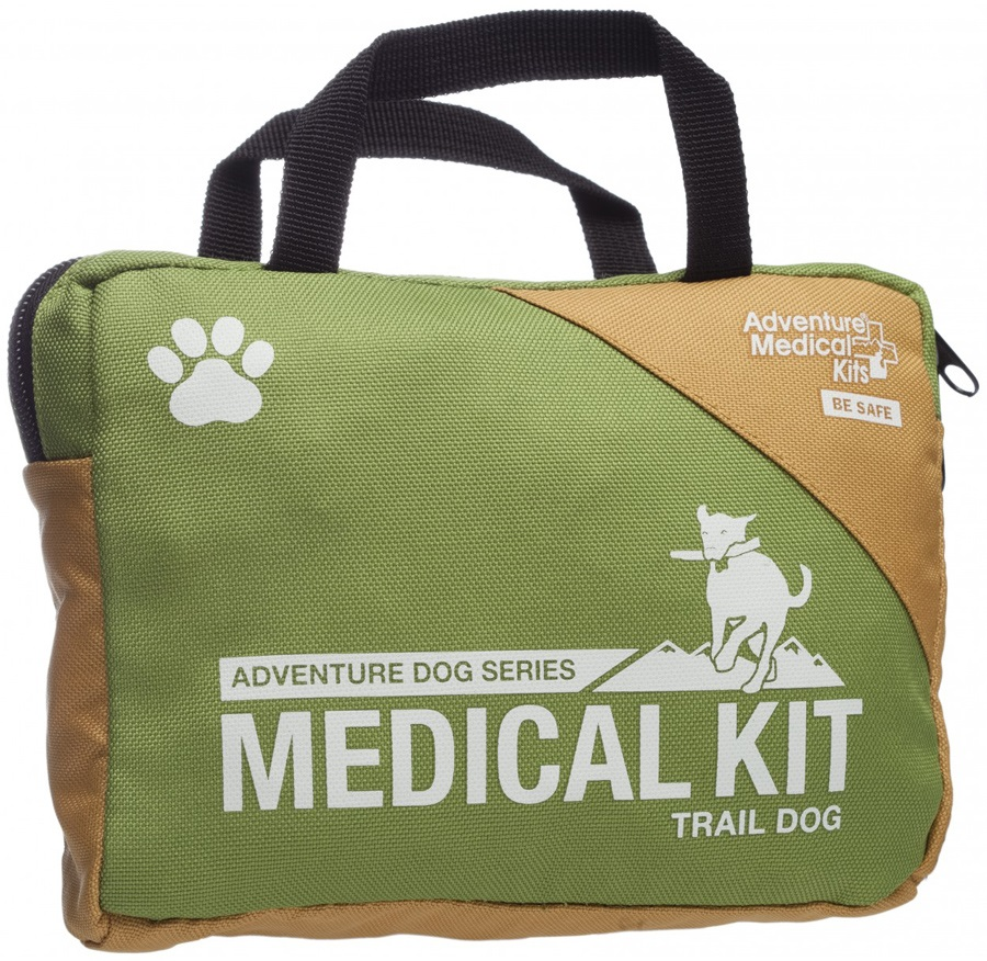Adventure Medical Kits Trail Dog Pet First Aid Kit 14 Items Green
