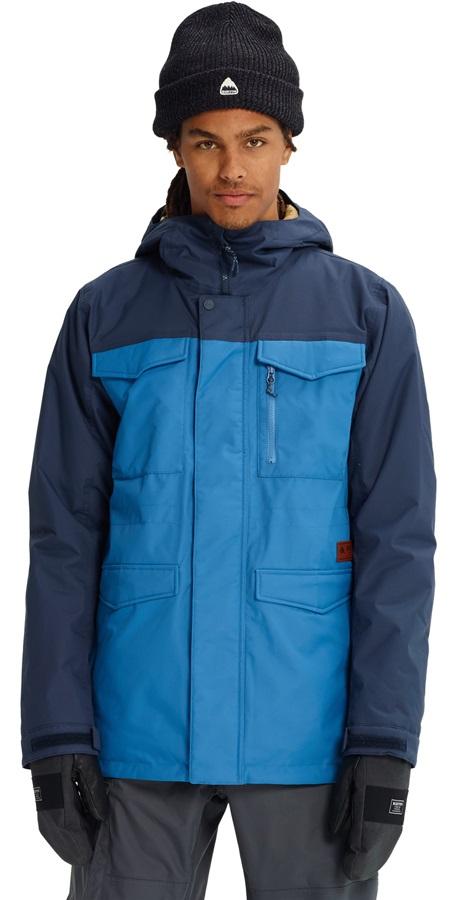 Burton Covert Ski/Snowboard Jacket, S Vallarta Blue/Mood Indigo