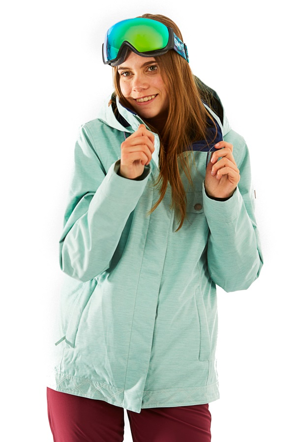 Roxy Billie Women's Snowboard/Ski Jacket, M Harbor Grey