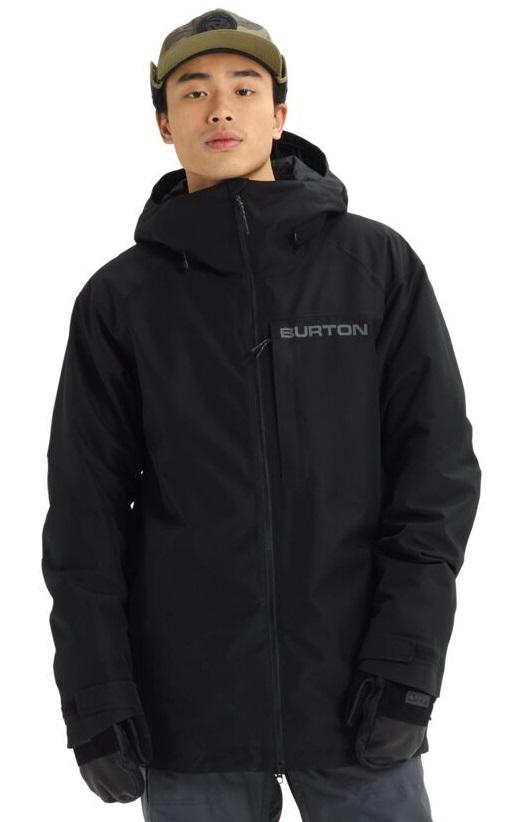 Burton Radial Gore-Tex Snowboard/Ski Jacket, S True Black 2020