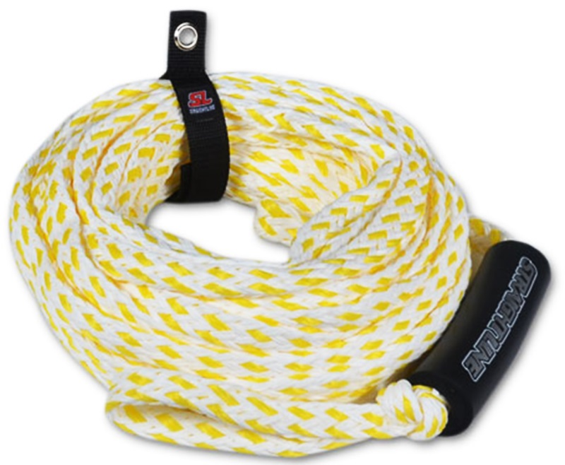 Straight Line Supreme Heavy Duty Tube Rope For 3 Rider Tubes Yellow