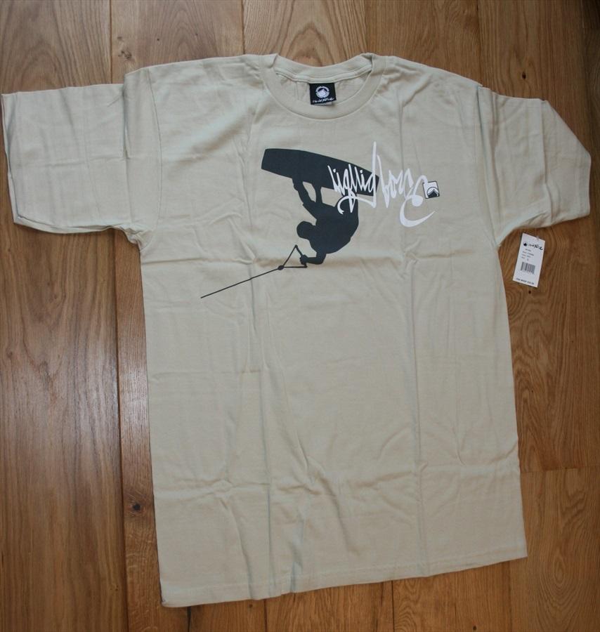 Liquid Force Action SS Scar Heavyweight T Shirt, XL Stone