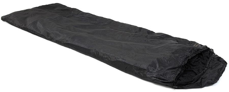 Snugpak Travelpak Jungle Bag RH Zip Sleeping Bag & Blanket, Reg. Black