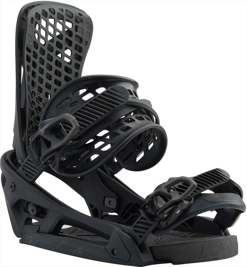 Burton Genesis EST Snowboard Bindings, Medium Matty Black 2020