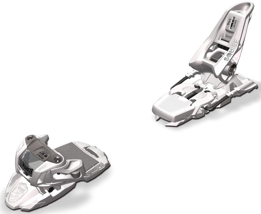 Marker Squire 11 Ski Bindings, 90mm, White