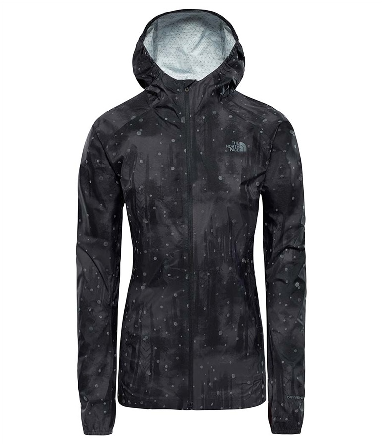 66ce089e4a8d The North Face Stormy Trail Women's Jacket, UK 12 Black Firefly