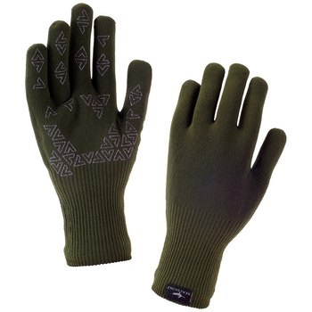 SealSkinz Ultra Grip Gloves, S Olive