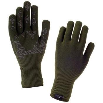 SealSkinz Ultra Grip Gloves, L Olive