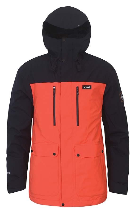 49486262bf Planks Good Times Ski/Snowboard Jacket, L Orange