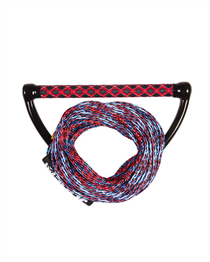 Jobe Prime Wake Rope | Handle Combo, 55 Ft. Red Blue 2019