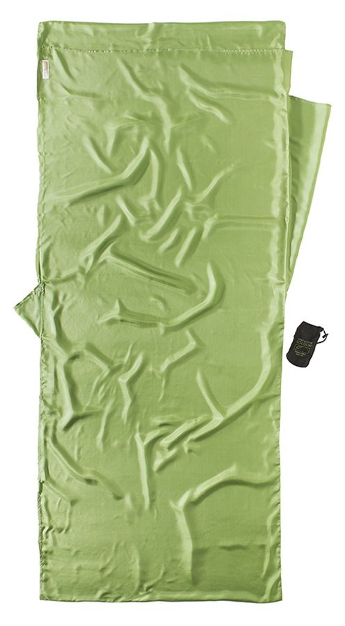 Cocoon Insect Shield TravelSheet Silk Sleeping Bag Liner 215x86cm Vine