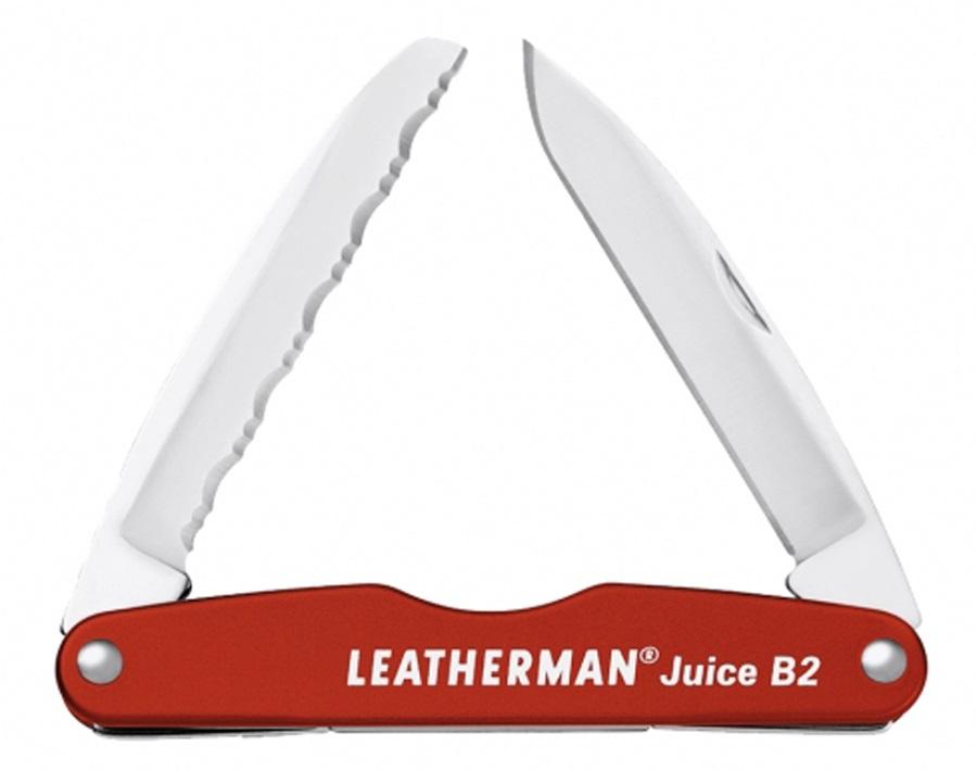 Leatherman Juice B2 Pocket Multi-Tool, 2-in-1 Cinnabar