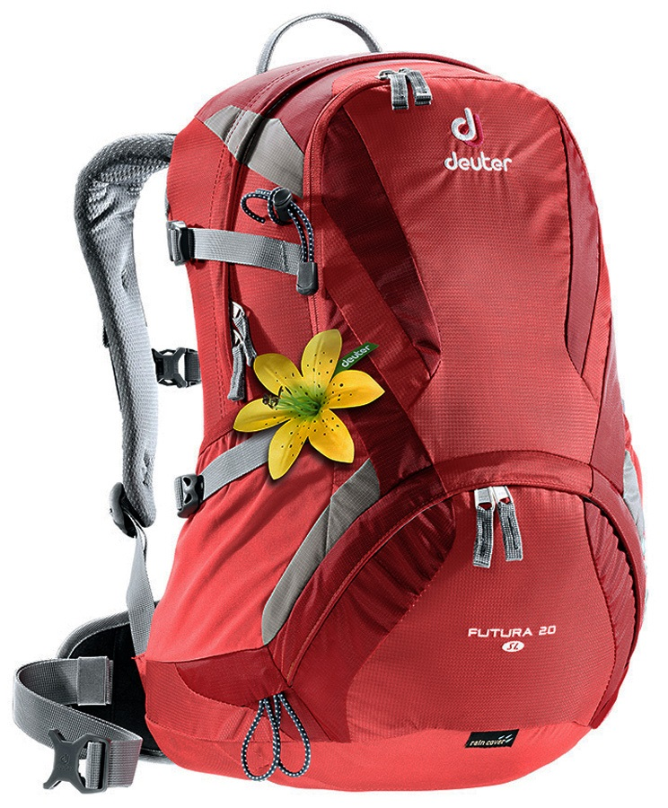 multiple colors where can i buy quality design Deuter Womens Futura 20 SL Women's Hiking Backpack 20L Coral-Cranberry