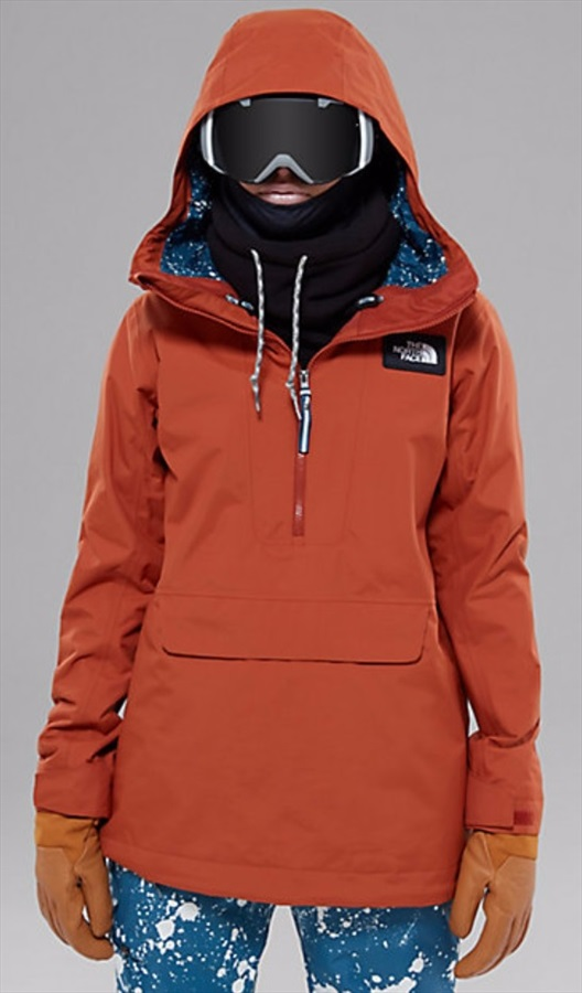 36a54d21b The North Face Tanager Anorak Ski/Snowboard Jacket, M Red