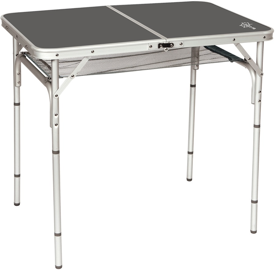 Bo-Camp Table Case Model Portable Folding Camp Table, Grey