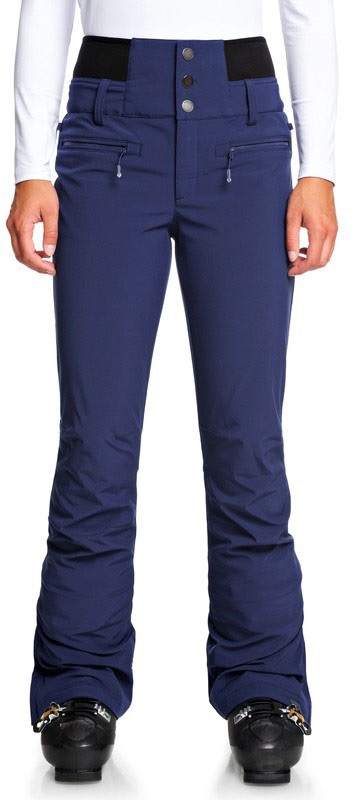 Roxy Rising High Women's Snowboard/Ski Pants, XS Medieval Blue