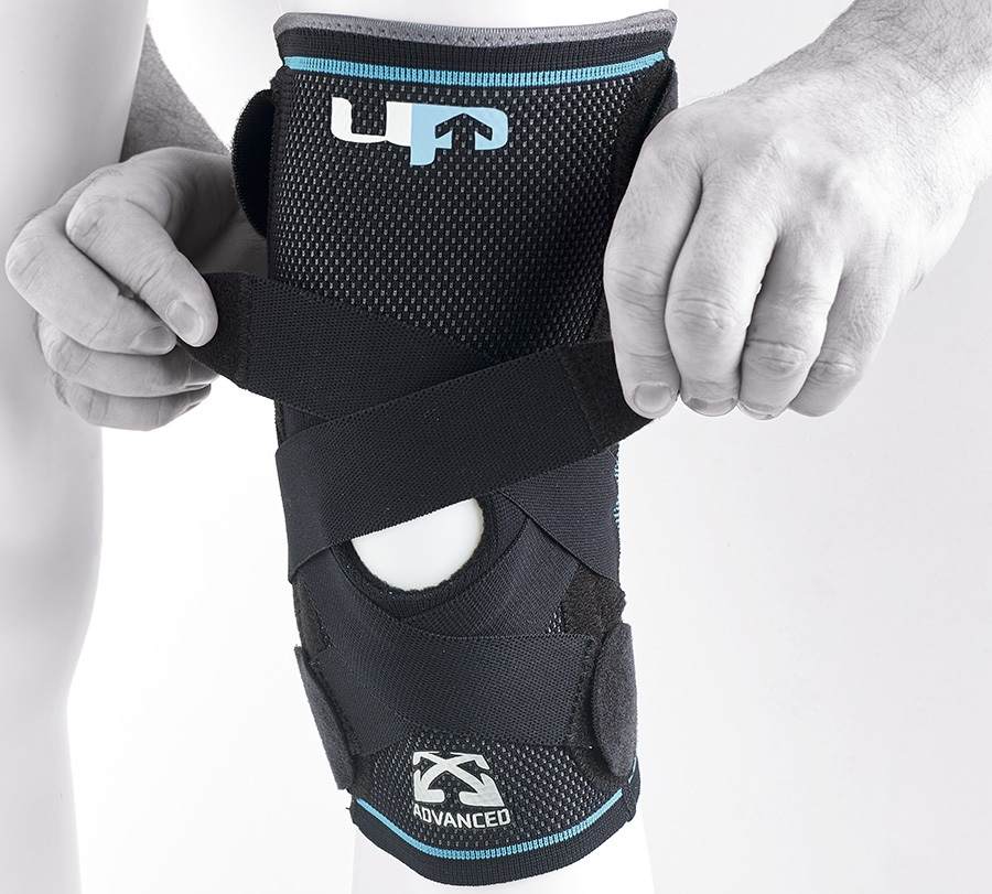 Ultimate Performance Advanced Compression Knee Support, S Black