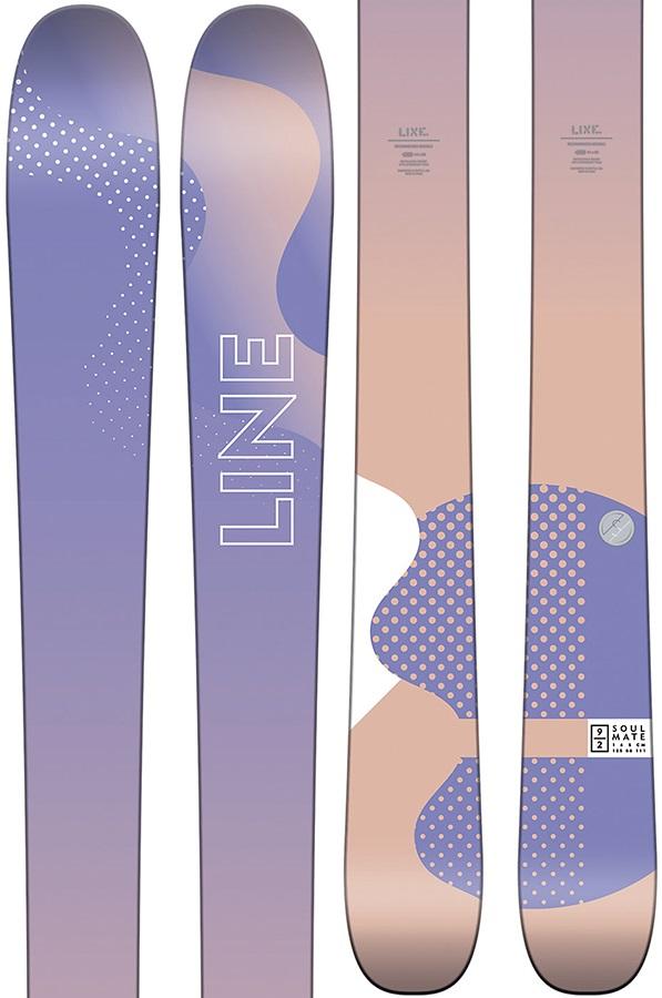 LINE Soulmate 92 Ski Only Women's Skis, 158cm 2018