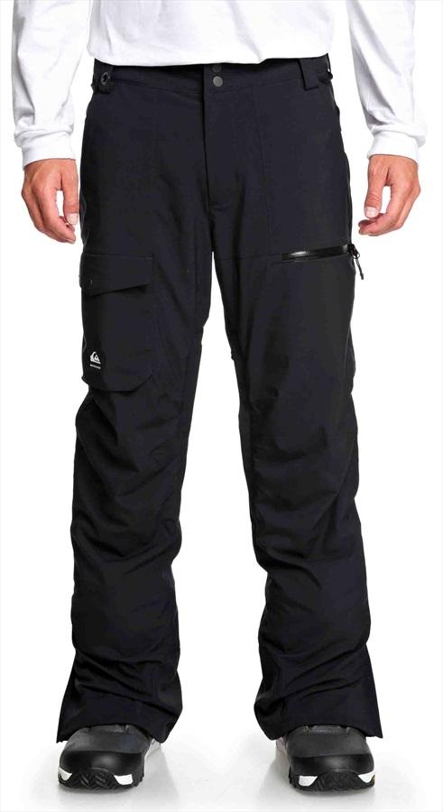 Quiksilver Utility Ski/Snowboard Pants, M Black