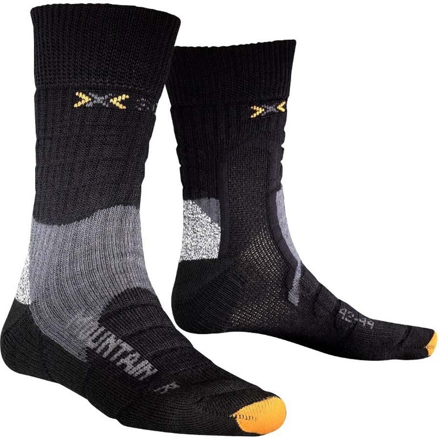 X-Bionic Trekking Mountain Hiking/Walking Socks L/XL Black