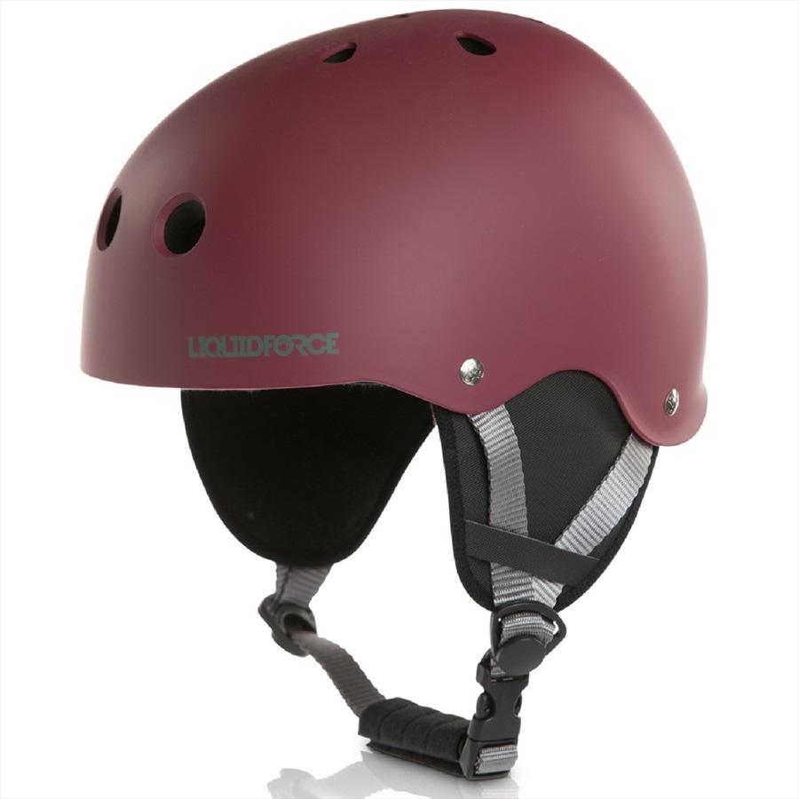 Liquid Force FLASH Wakeboard Helmet, L Ox Blood