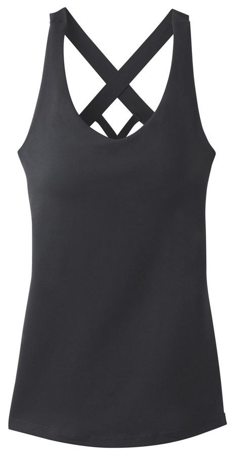 Prana Verana Top Women's Tank Top Vest - S, Black
