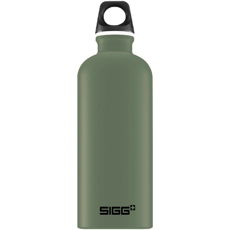 Sigg Traveller Alumnium Water Bottle, 600ml Leaf Green