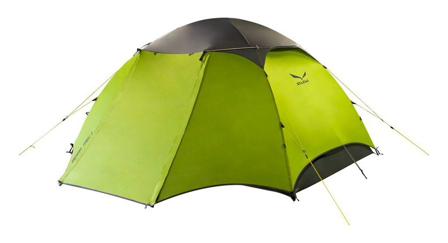 Salewa Sierra Trek 2 Alpine Trekking 2 Person Tent Grey/Cactus