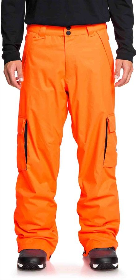 DC Banshee Ski/Snowboard Pants, L Shocking Orange