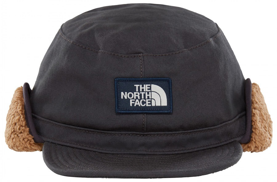 2d544bcf0 The North Face Campshire Earflap Cap Sherpa Lined Warm Hat, L/XL Black