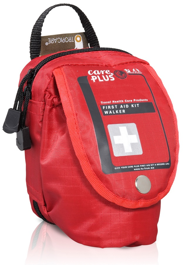 Care Plus Walker First Aid Kit Hiking & Trekking Medical Kit, 40pcs