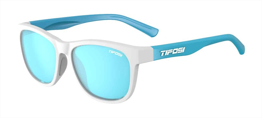 Tifosi Swank Smoke Bright Blue Sunglasses Frost/Powder Blue