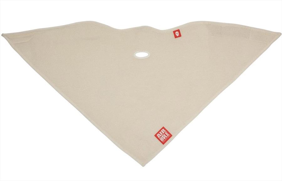 Airhole Standard Lite Polar Snowboard/Ski Face Mask, S/M Milk