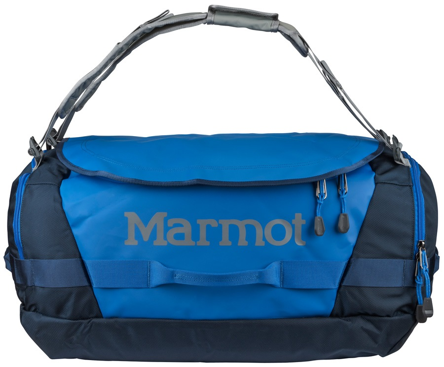 Marmot Long Hauler Duffel Travel Bag - 50L, Peak Blue / Vintage Navy