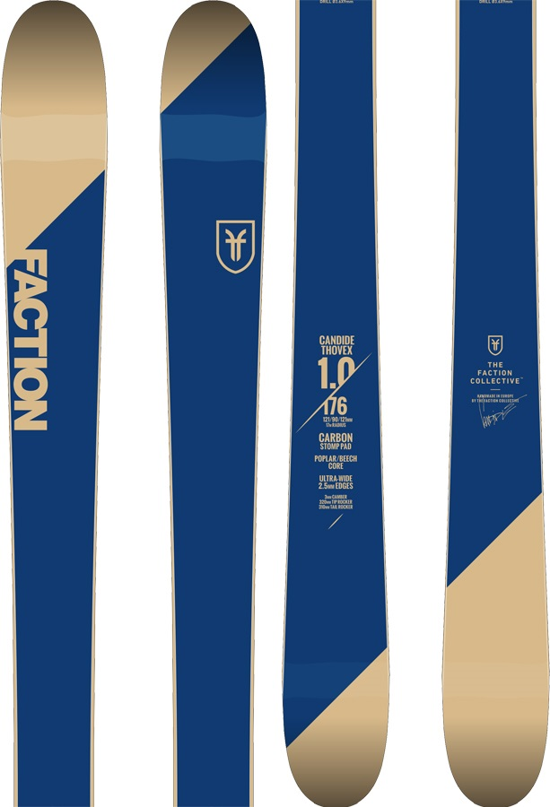 Faction Candide CT 1.0 Skis, 188cm 2019