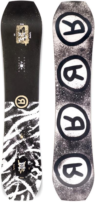 Ride TwinPig Hybrid Camber Snowboard, 157cm 2020