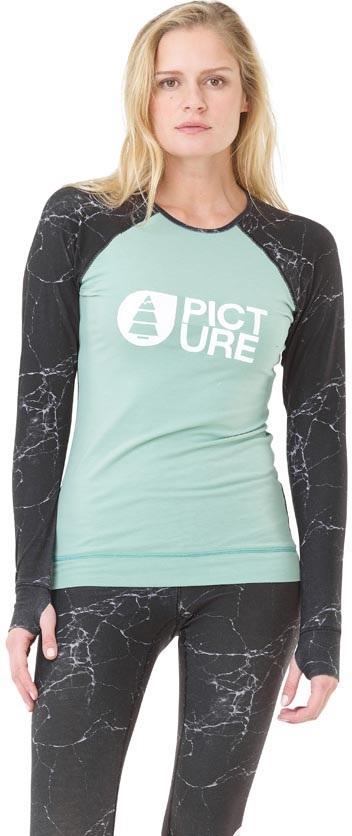Picture Womens Milita Thermal Top, S Marble