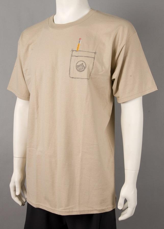 Liquid Force Number 2 T Shirt, Large, Sand