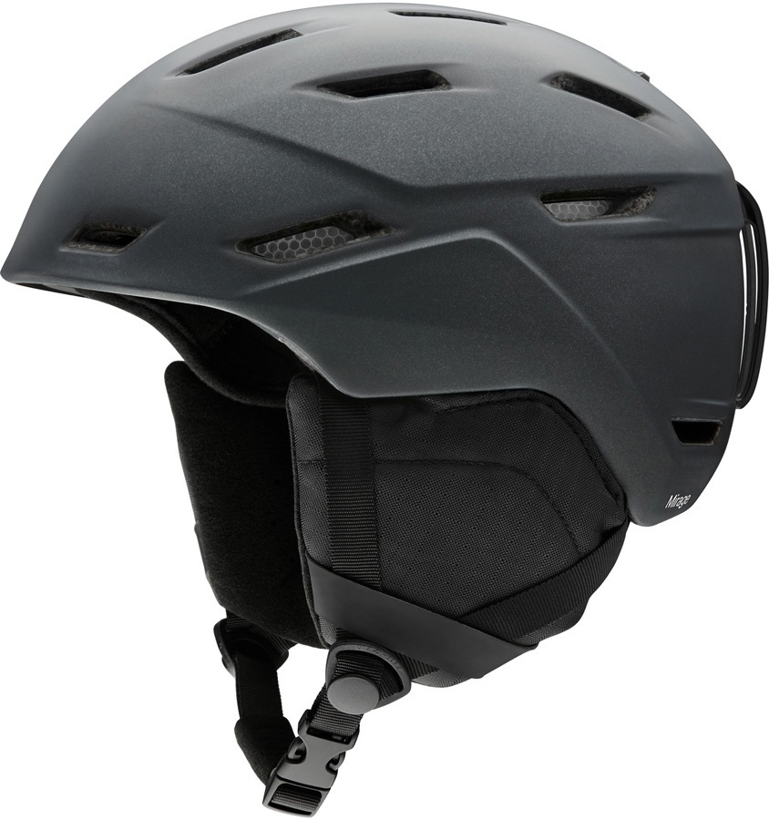 Smith Mirage Women's Snowboard/Ski Helmet, S Matte Black Pearl 2020